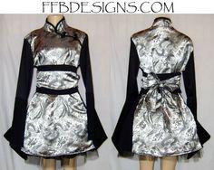 Dragon Kimono-Chinese dress by ~funkyfunnybone on deviantART