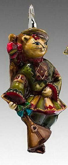 Стеклянные игрушки ручной работы от «М.А. Mostowski» и «Komozja»