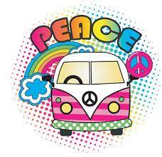 Resultado de imagen para combi peace and love
