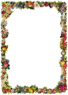 See Through Old Fashioned Floral Png