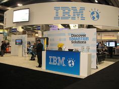 My booth design! IBM at oracle 2011
