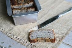 Banana Bread {coconut flour}