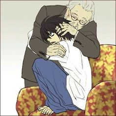 Watari and L Lawliet _Death Note