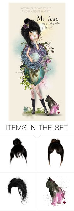 """For my beautiful friend Ana..♥"" by cherry-layne ❤ liked on Polyvore featuring art"