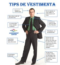 Algunos tips de vestimenta para los caballeros.