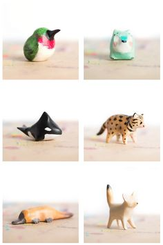 Some currently available totems from le animalé!