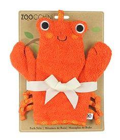 Zoocchini Charlie the Crab Bath Bath Mitt
