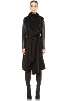 Tess Giberson Fall 2012. Love this coat