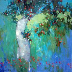 In My Garden Painting