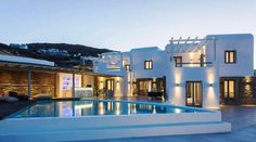 Villa located at Mykonos, Greece, for sale Mykonos Greece, Property For Sale, Breathe, Villa, Mansions, Live, House Styles, Home Decor, Decoration Home