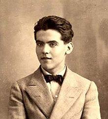 Federico Garcia Lorca (born Federico del Sagrado Corazón de Jesús García Lorca) | June 5, 1898 – August 19, 1936 (aged 38)