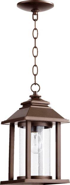 Quorum International 7273-86 Crusoe 1 Light 14 inch Oiled Bronze Outdoor Wall Lantern