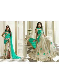 Rama Designer Saree