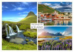 Island | Urlaubsgrüße | Echte Postkarten online versenden | MyPostcard.com
