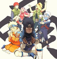 Well, i like Kakashi as a prankster and Saso and Dei hovering Sakura... Just nice.. ^^