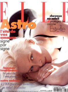☆ Estelle Lefebure | Photography by Dominique Issermann | For Elle Magazine France | June 1996 ☆ #Estelle_Lefebure #Dominique_Issermann #Elle #1996