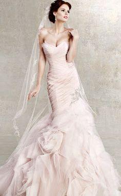 { Ask Cynthia }: Wedding Inspirations   Blush Wedding Dresses