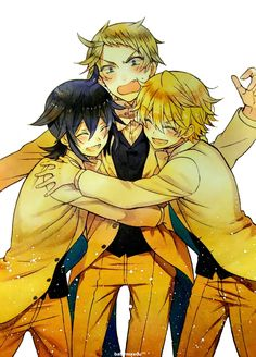 Pandora Hearts -Leo, Elliot & Oz ;u;