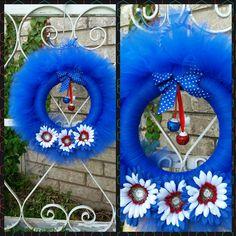 Patriot wreath