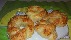Cookbook Recipes, Cooking Recipes, Greek Pastries, Greek Cooking, Mediterranean Recipes, Greek Recipes, Food For Thought, Bagel, Appetizers