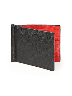 BALLY Leather Money Clip Wallet. #bally #bags #leather #wallet #accessories #