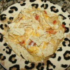 Chicken Tostitos Casserole http://tastykitchen.com/recipes/main-courses/rotel-chicken-tostitos-casserole/