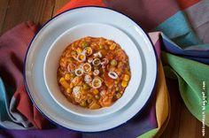 Wos zum Essn: War das mal ein leckeres Fresschen - Jambalaya mit Zucchini, Erbsen und Co.