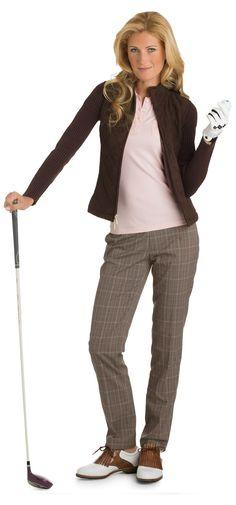 Fairway & Greene Women's Golf Cool-Weather Winning Look