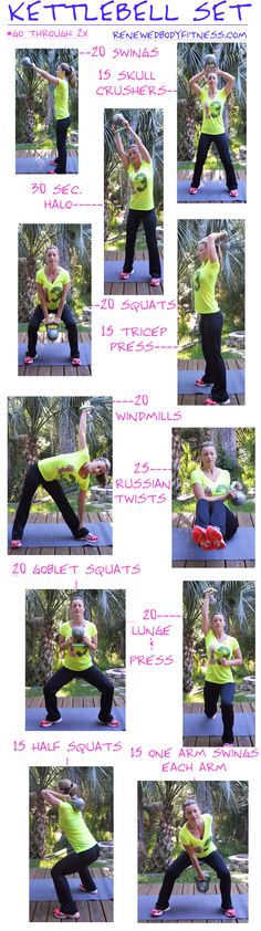 Kettlebell Workout 10/8 Buy In: 5 Turkish Get Ups each arm Cash out: 15 Lunge Press each leg