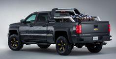 chevy apocolypse ride | Chevrolet Silverado Black Ops Concept | Cool Material