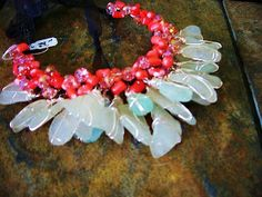 Checkout this amazing product Salmon Coral, Sea Glass found in Hawaii at Shopintoit
