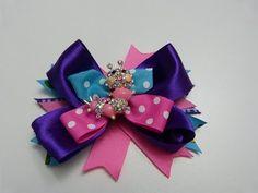 flores,y moños en cinta , accesorios para el cabello, PaP, LAÇO SIMPLES DE FITA - YouTube