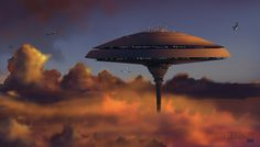 Listen online to the sound mix called: ~ Cloud City Spaceport ~. Cloud City, Cloud 9, Royal Clan, City Bedroom, Star Wars Sequel Trilogy, Science Fiction Authors, Far Future, The Empire Strikes Back, Star Wars Art