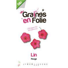 Graines de Lin rouge Bio - Le Coq Vert