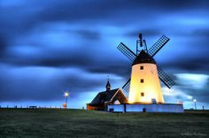 Lytham Windmill. http://www.uk-tefl-local.com #lytham