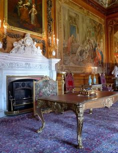 Queen's Presence Chamber at Windsor Castle, UK