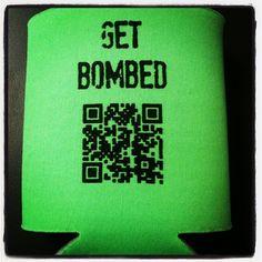 #stpatricksday koozie #timebomb