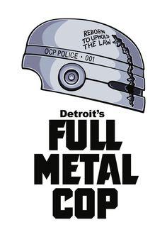 Full Metal Cop by Doodle Dojo