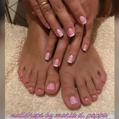 #pinknails #frenchtoes