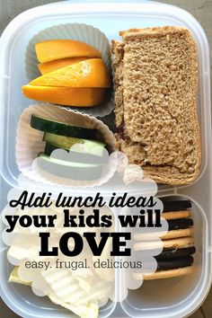 Do you struggle coming up with cold lunch ideas for your kids each week? Here are some simple and easy lunch ideas your kids will love with ingredients from Aldi. Frugal and delicious.