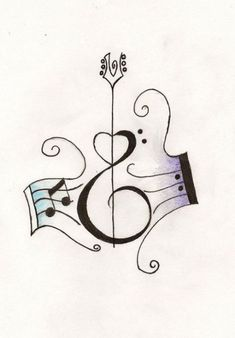 Music Notes With Heart Shaped Guitar Tattoo Design Tatoo Music, Music Tattoos, Body Art Tattoos, New Tattoos, Tattoo Art, Acoustic Guitar Tattoo, Guitar Tattoo Design, Guitar Art, Music Guitar