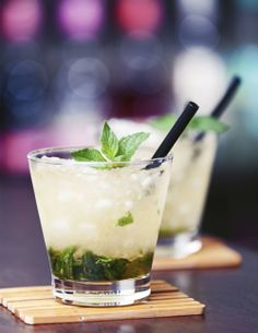 """Thinned"" Mint Julep"