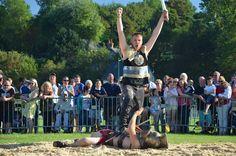 Victoire du gaulois !  Photos du spectacle de Quiberville - Aventure au galop
