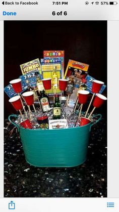 Gift Basket Ideas Gifts For 21st Birthday Guys