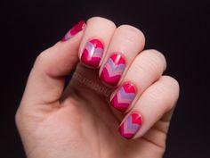 heart fishtails #nails