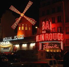 The Moulin Rouge, France