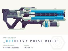 Remember when I had time to Twitch? Those were the days. Well, we started working on Soldier 76's Heavy Pulse Rifle and we almost brought it to completion, but then I forgot. Well, then I remembere...