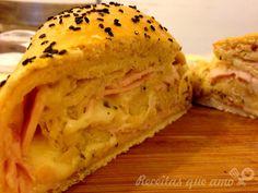 receita de pão caseiro