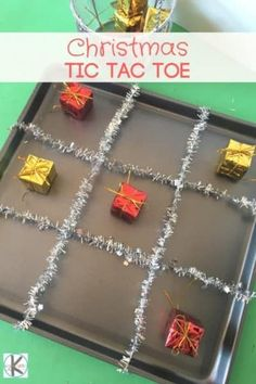 Clever Christmas TIC TAC TOE