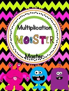 Monster Math Centers | Mornings, Math and Cute ideas